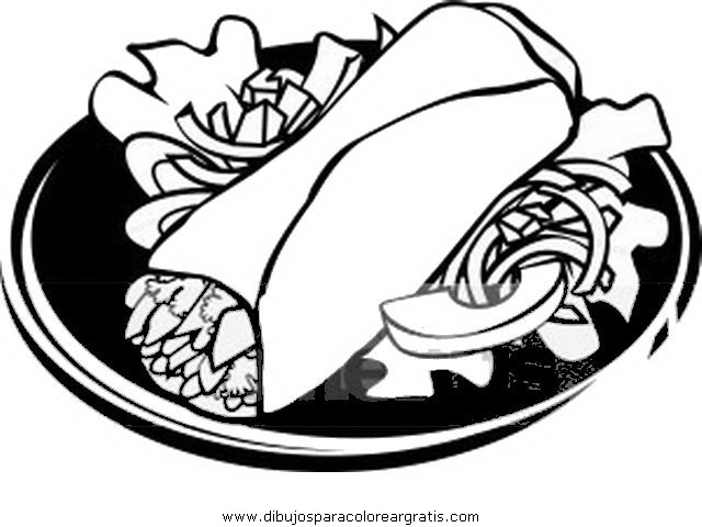 Maiz para tortillas para colorear - Imagui