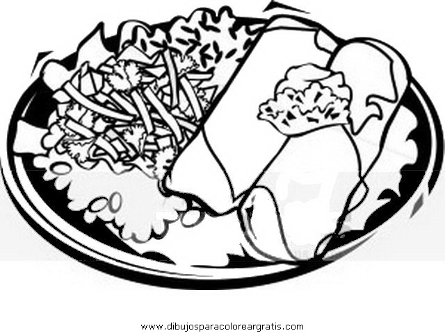 tamales coloring pages - photo #33
