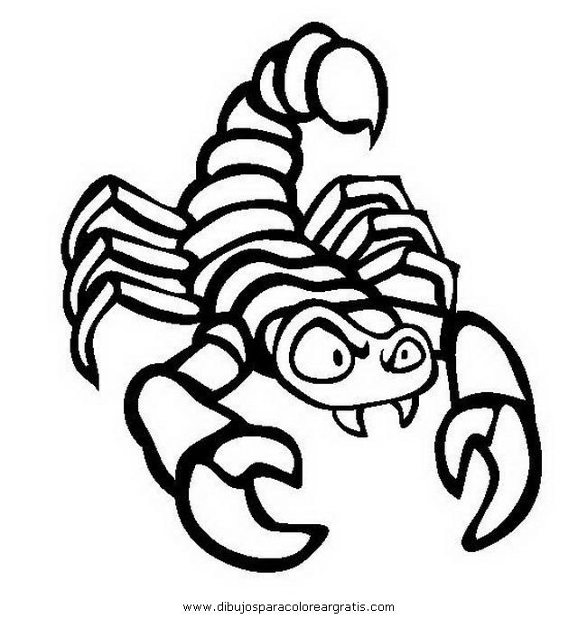Dibujo alacran_6 en la categoria animales diseños