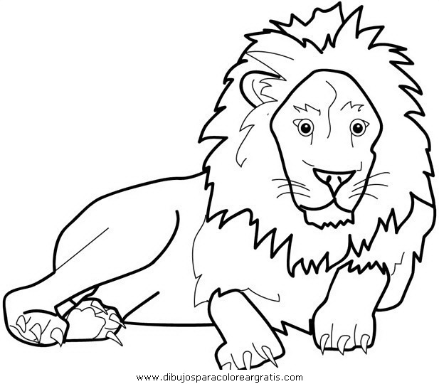 Dibujo Leones21 En La Categoria Animales Diseños