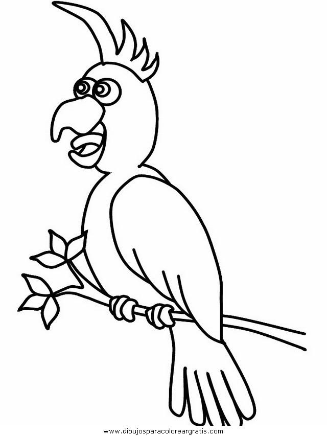 Dibujo Papagayos01 En La Categoria Animales Diseños
