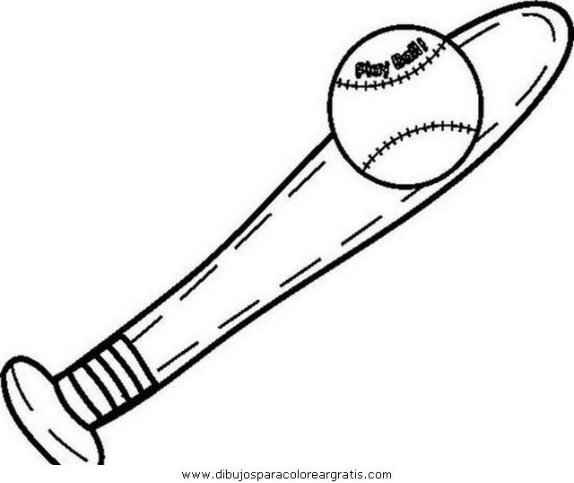 Dibujo Beisbol05 En La Categoria Deportes Diseños