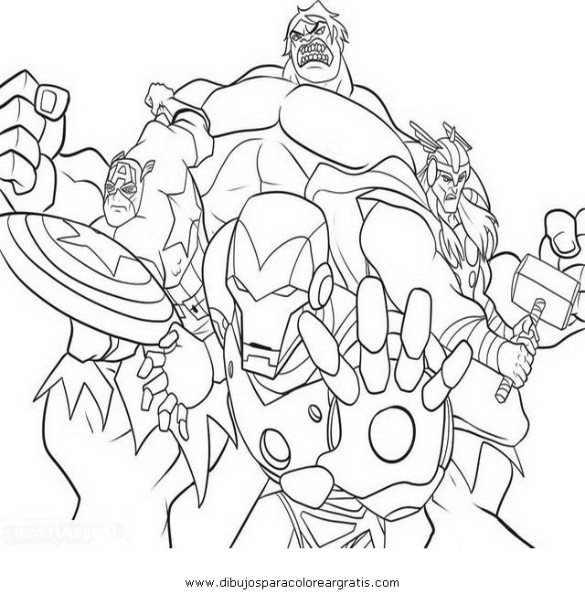 Dibujo Avengersvengadores07 En La Categoria
