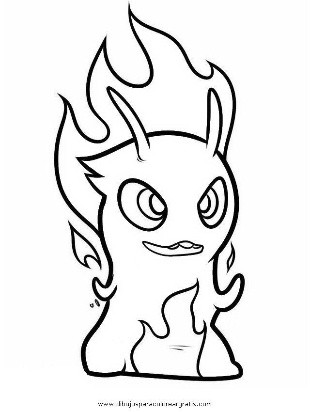 Dibujo Bajoterra 07 En La Categoria Dibujos Animados Disenos