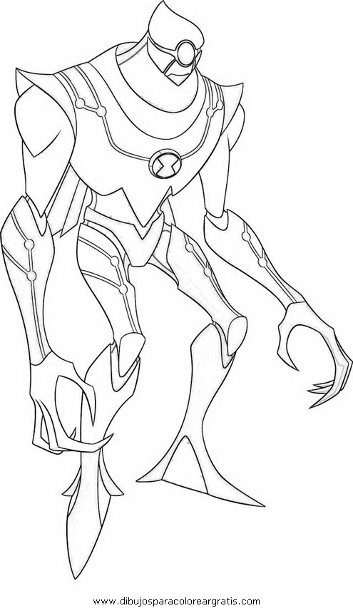 ben 10 lodestar coloring pages - photo#4