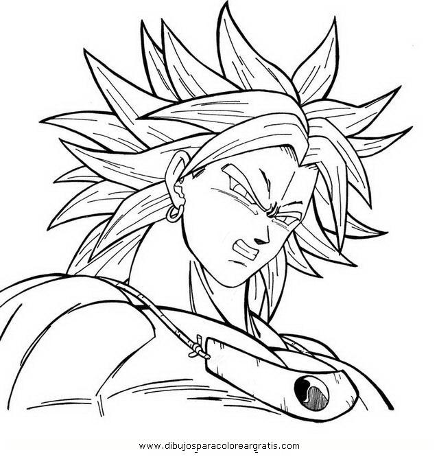 Resultado De Imagen Para Para Colorear Dragon Ball Z Kai