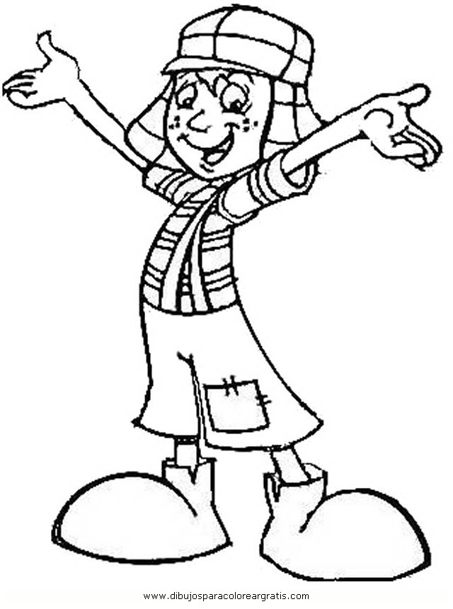 chavo coloring pages - photo#5