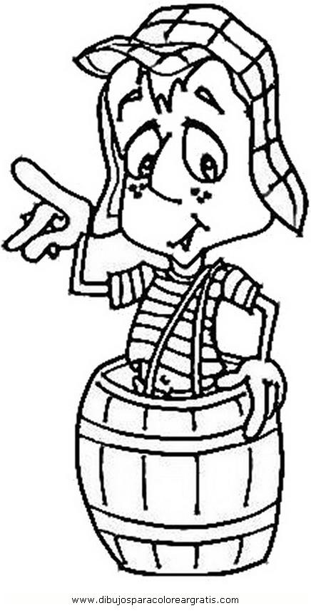 chavo del ocho coloring pages dibujos de el chavo del ocho imagui