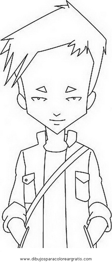 code lyoko coloring pages - free coloring pages of code lyoko