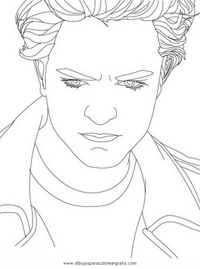 Twilight Saga Bella And Jacob Coloring Pages Pictures to Pin on