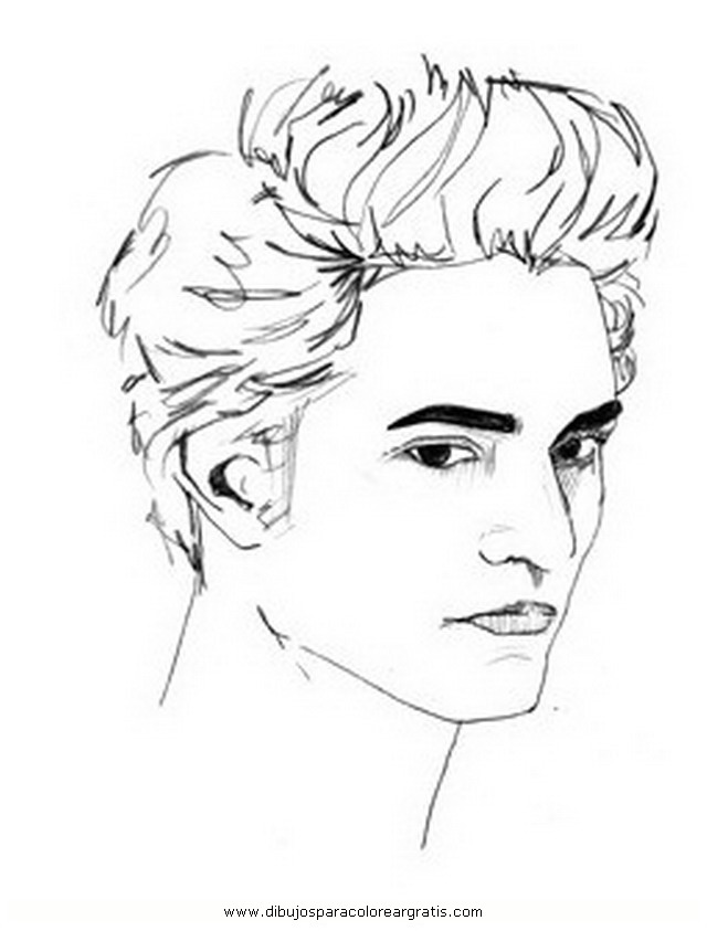 Coloring Pages Of Edward And Bella