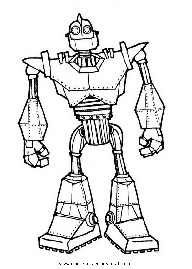 Iron Giant Coloring Pages Sketch Coloring Page