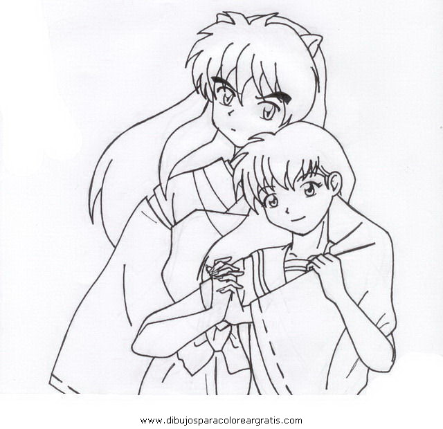 Ranma 12 Coloring Pages
