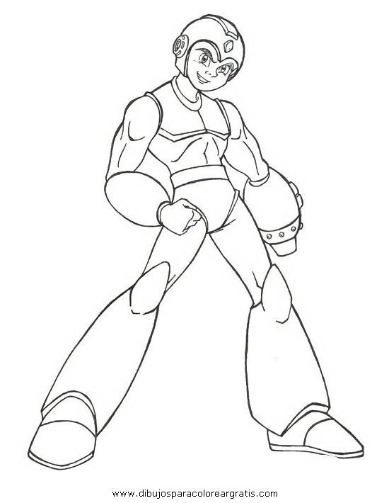 Dibujo megaman_15 en la categoria dibujos_animados diseños
