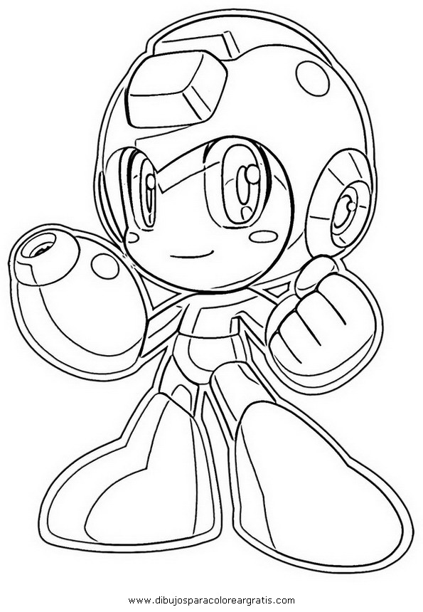Dibujo megaman_17 en la categoria dibujos_animados diseños