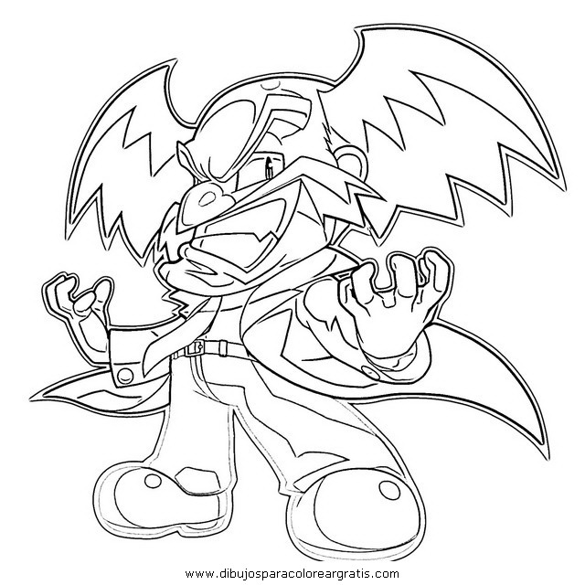 free mega man 18 coloring pages
