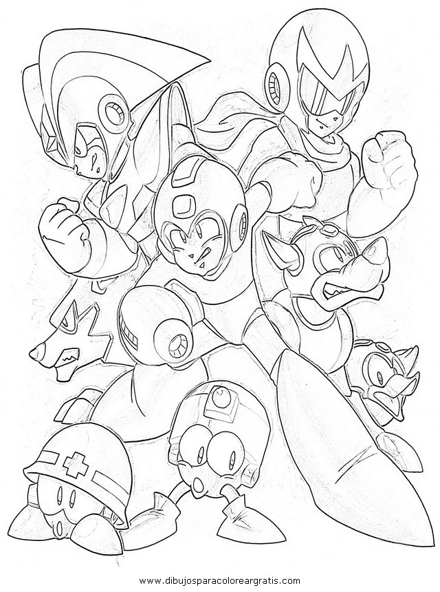 megaman coloring pages - retro mega man coloring pages coloring pages
