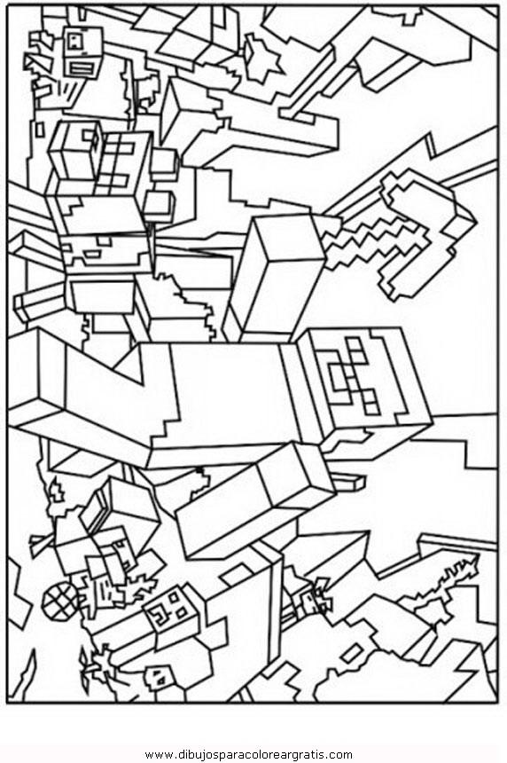 Dibujo Minecraft Creeper 2 En La Categoria Dibujosanimados Diseños