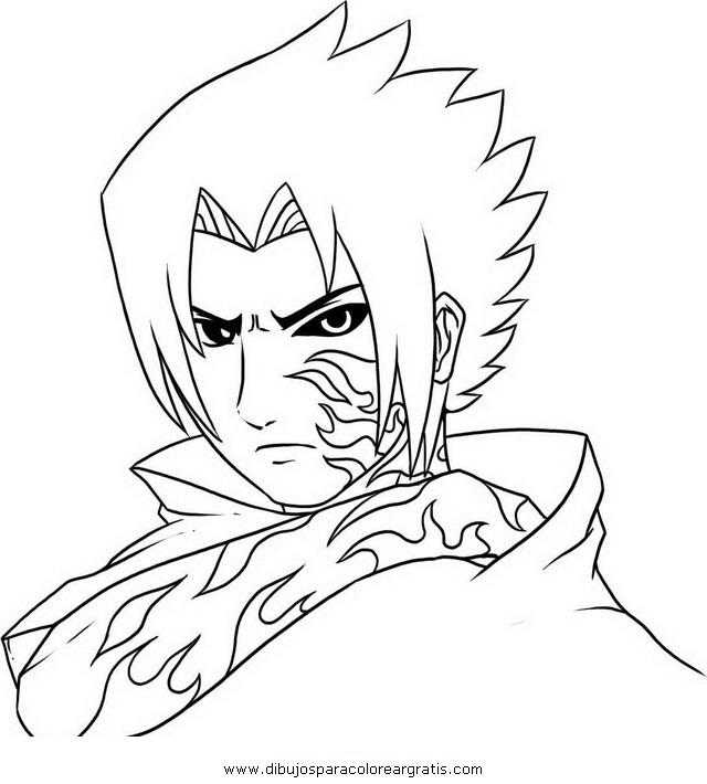 Dibujos para colorear de Naruto y sasuke - Imagui