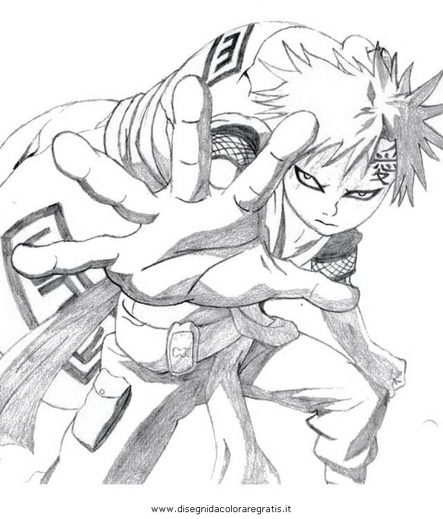 Dibujo Narutogaara3 En La Categoria Dibujosanimados Diseños