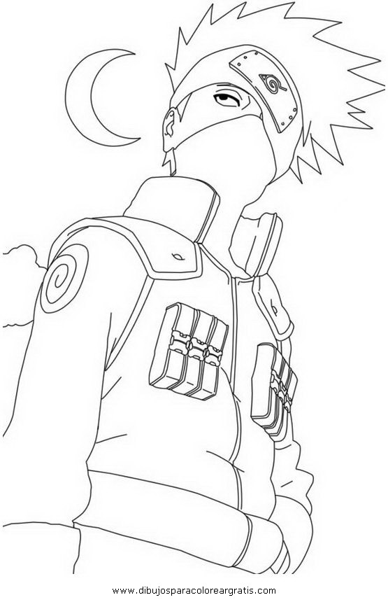 Dibujo naruto_kakashi_3 en la categoria dibujos_animados diseños