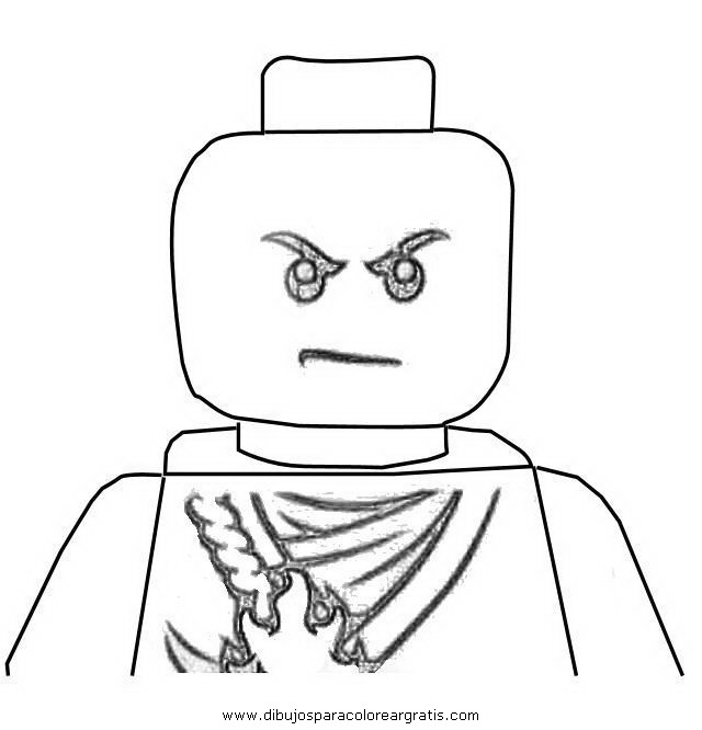 Free coloring pages of lego zima