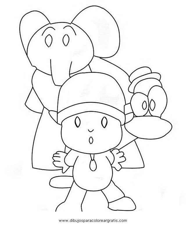 Dibujo Pocoyo32 En La Categoria Dibujosanimados Diseños