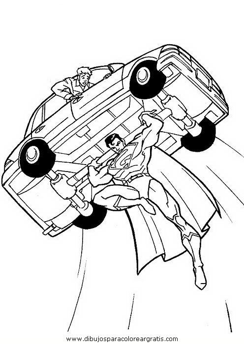 dibujo superman54 en la categoria dibujosanimados diseños