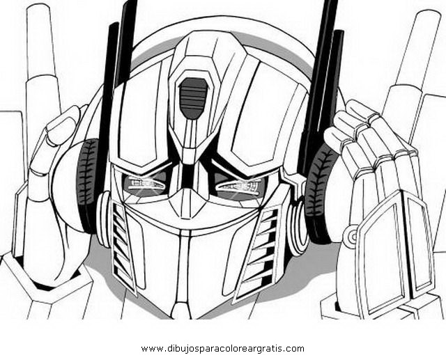 Dibujo Transformersoptimusprime1 En La Categoria