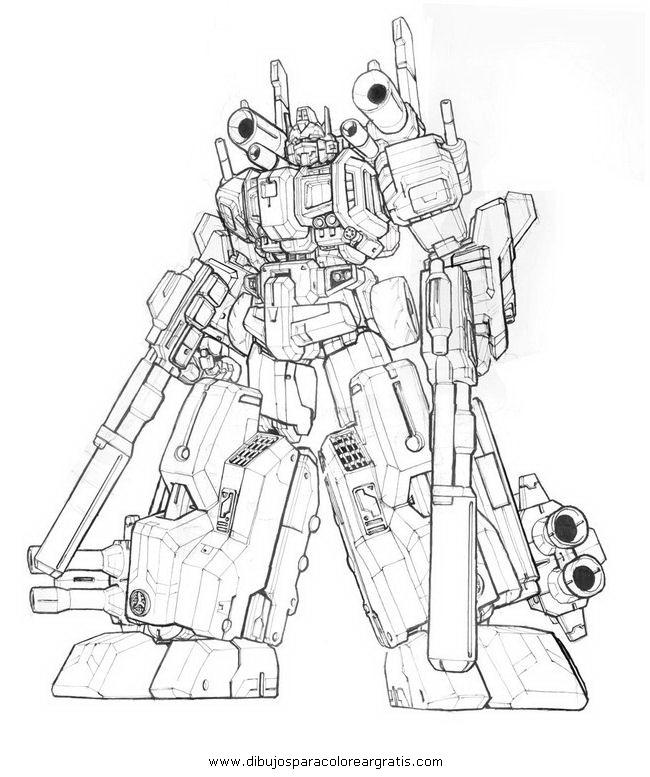 Dibujo Transformers_optimus_prime_2 En La Categoria
