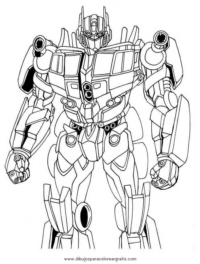 Dibujo transformers optimus prime 3 en la categoria dibujos animados dise os - Dessin optimus prime ...