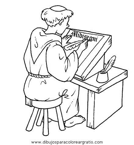 Dibujos para colorear de la edad media - Imagui