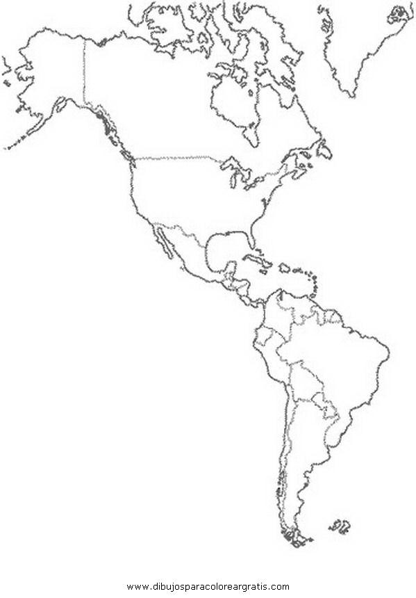 Continente Oceania para colorear sin nombres - Imagui