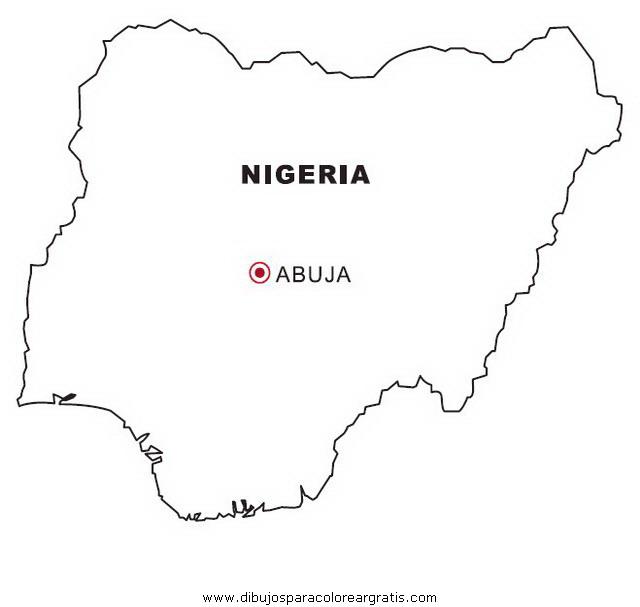 Dibujo Nigeria En La Categoria Geografia Diseos