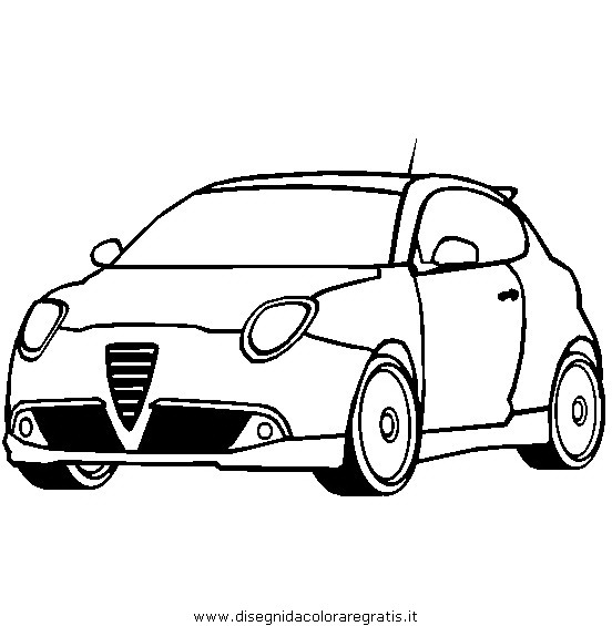 alfa romqo colouring pages