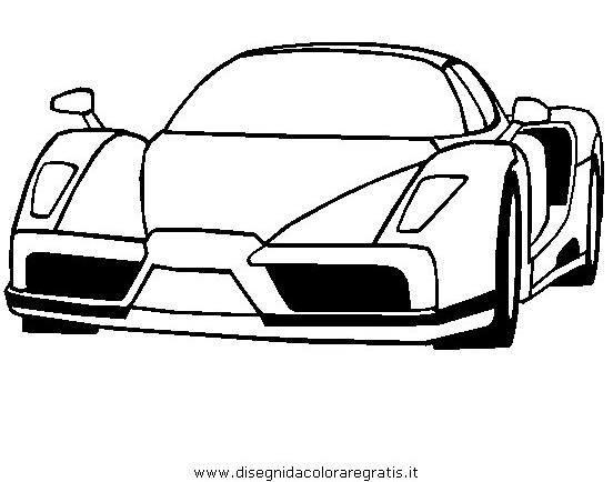 Dibujo Ferrari Enzo2 En La Categoria Medios Trasporte Disenos
