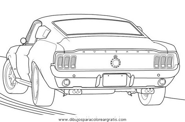 Mustang Para Colorear on the wind in willows coloring pages