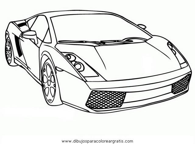 Lamborghini para colore - Imagui