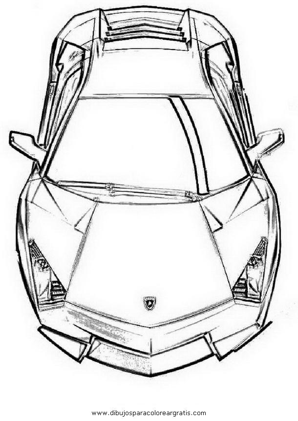 Dibujos Para Colorear De Coches Lamborghini ~ Ideas Creativas Sobre ...