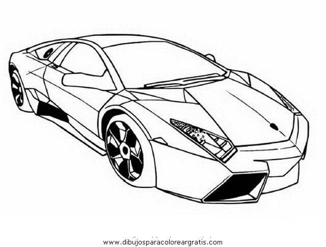 Carros dibujos coloring pages for Coches para pintar