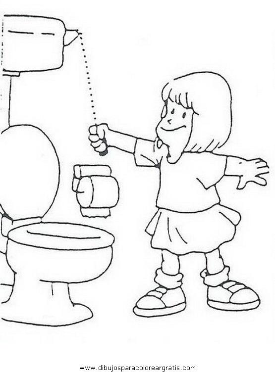 Higiene personal dibujos coloreados imagui - Como iluminar un bano ...