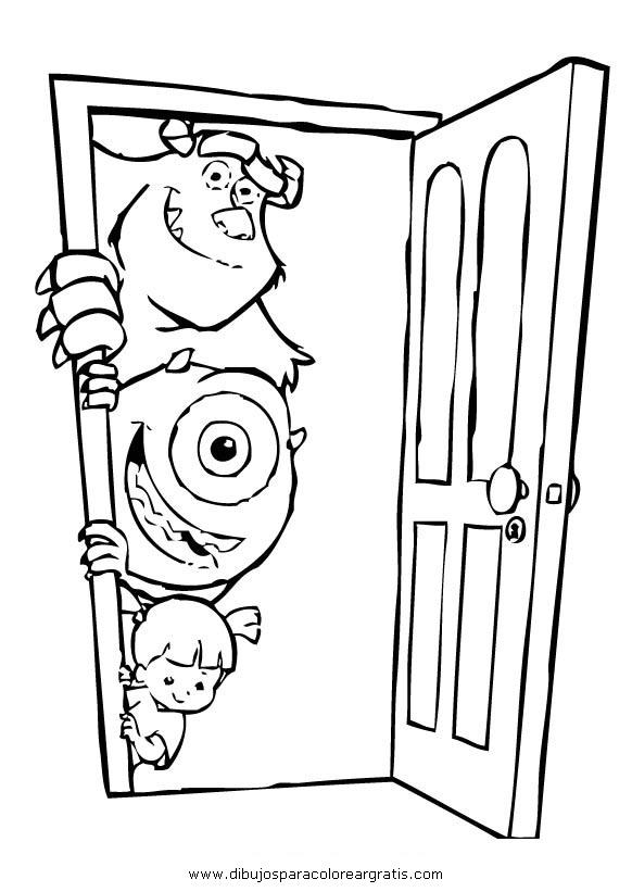 Dibujos mixtos puerta puertas 6 - Porta da colorare ...