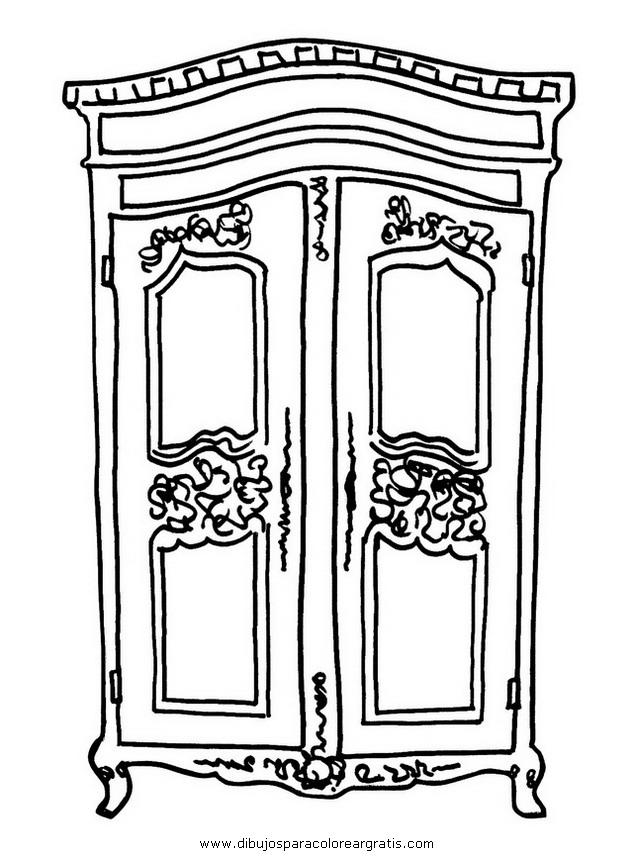 Dibujo 21103 Ropero_2 on Dibujos Para Imprimir Gratis