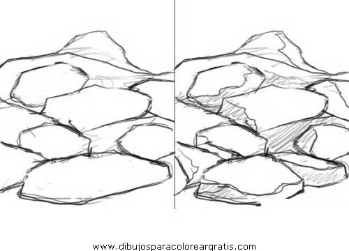 Dibujos Rocas7