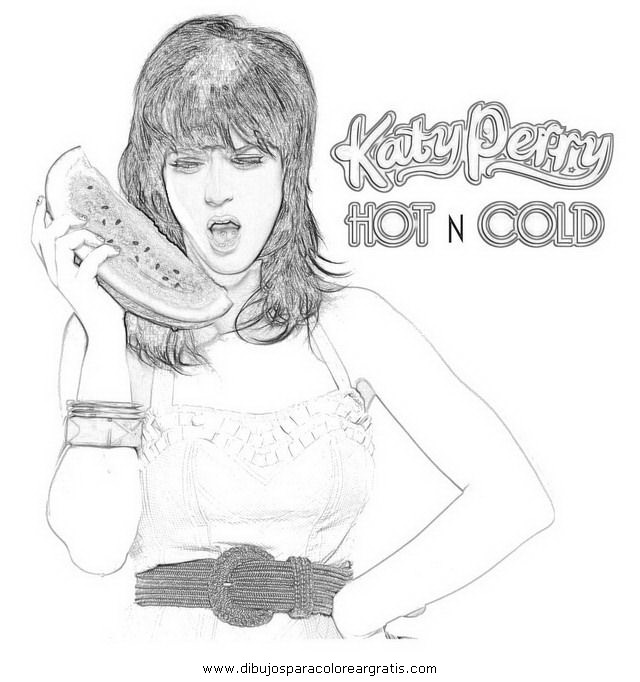 Free Coloring Pages Of Da Katy Perry Katy Perry Coloring Pages