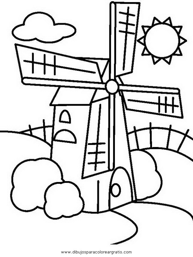 Dibujo Molino7 En La Categoria Mixtos Diseños