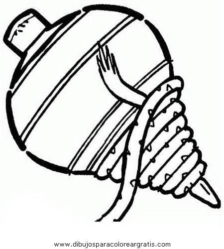 Dibujos de trompos para colorear - Imagui