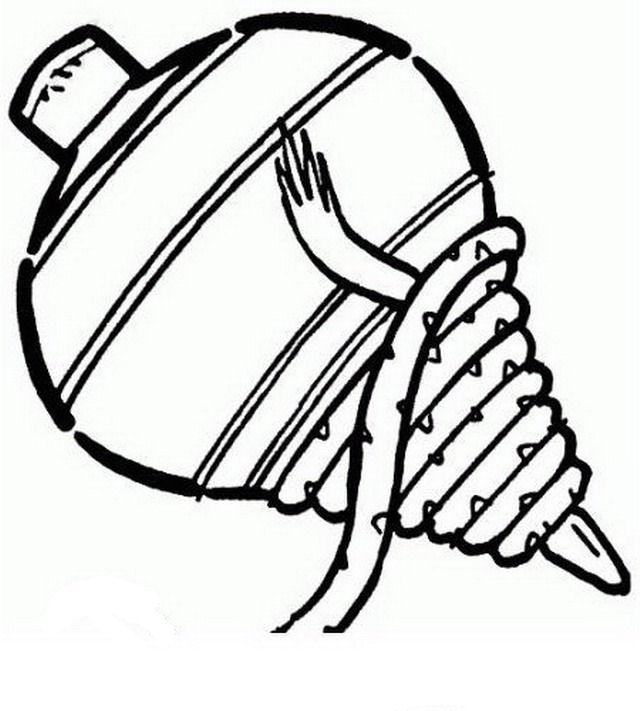 Dibujos para colorear de un trompo - Imagui