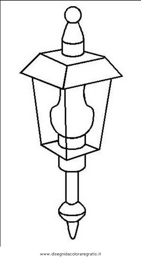 Dibujo de faroles para colorear - Imagui