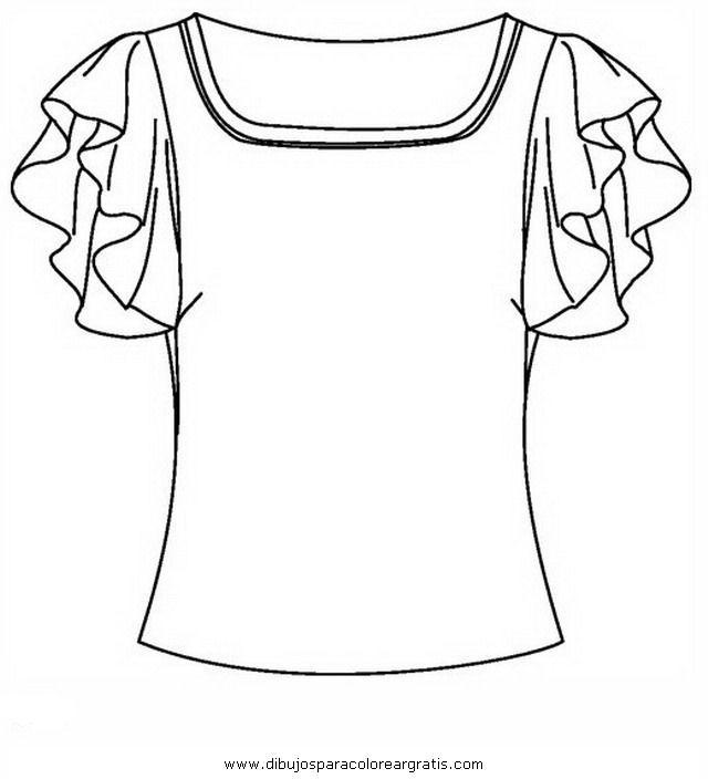 Dibujo Blusa1 En La Categoria Mixtos Diseños